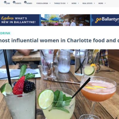 Charlotte Agenda Lists Chefs Ashley Boyd and Miranda Brown in the Top 10 Most Influential Women in Charlotte's Food and Drink Industry