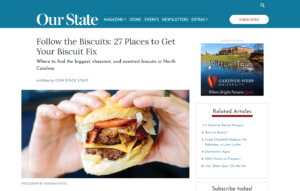 The Asbury featured in Our State