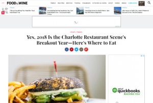 Food & Wine Features The Asbury