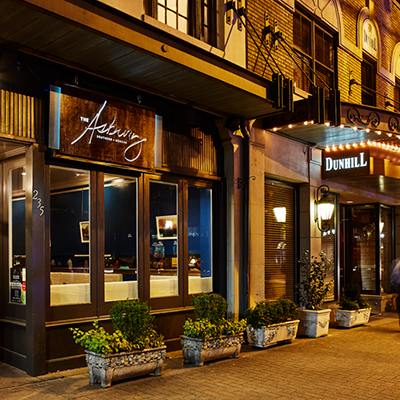 The Asbury Restaurant Uptown Charlotte at The Dunhill Hotel