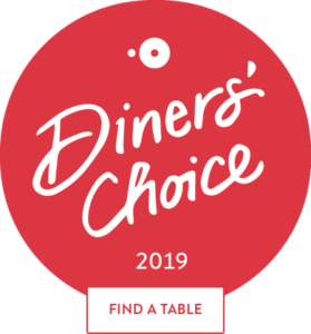 The Asbury Charlotte Selected as an OpenTable 2019 Diners' Choice Restaurant