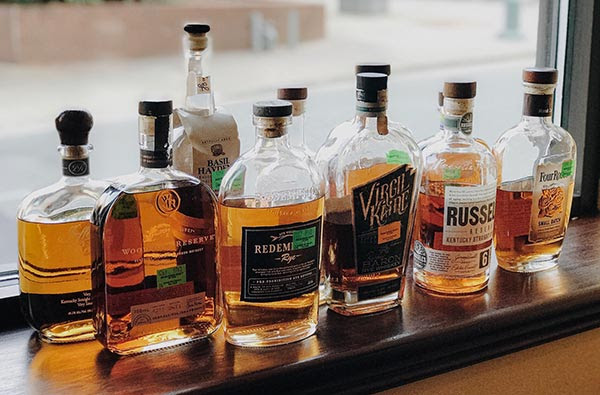 The Asbury & Whiskey Tango Charlie present a Bourbon Tasting Dinner